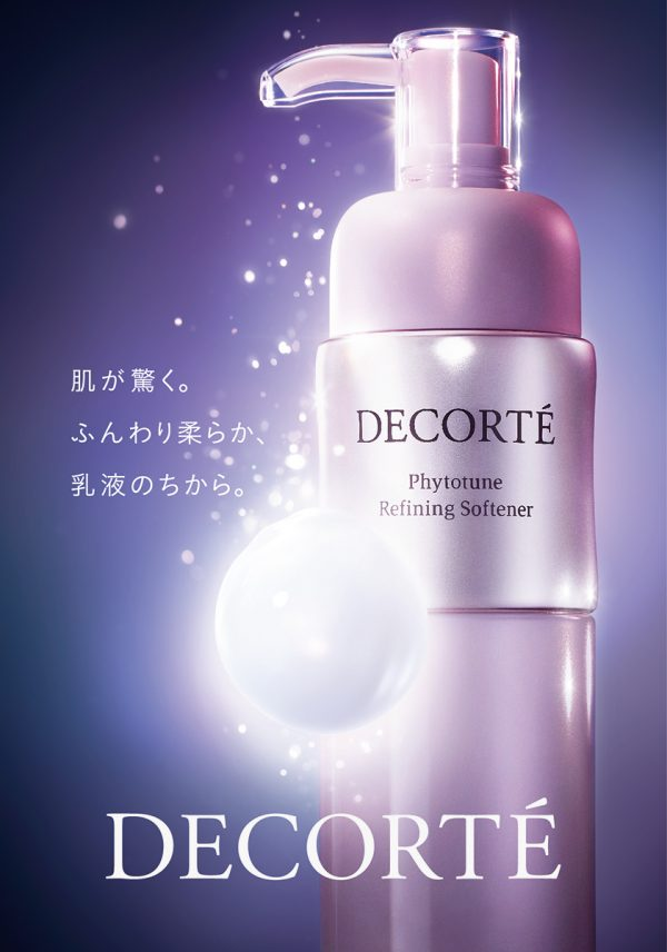 【Photographer 松本一芭】DECORTÉ 「 Phytotune」